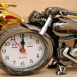 Super cool motorcycle shaped alarm clock