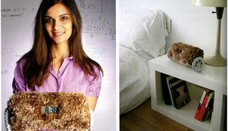 Clocky Alarm clock Invention history