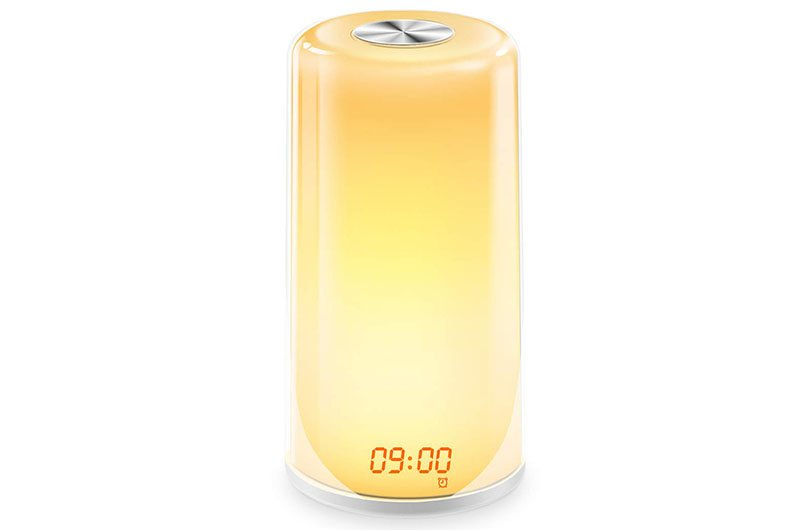 digital alarm clock yellow numbers