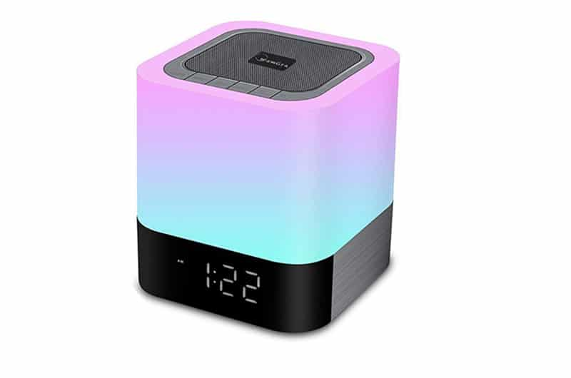 Night light Bluetooth alarm