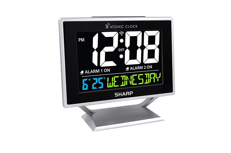 Large display alarm clock