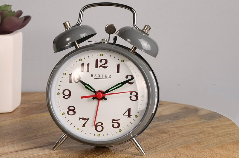 Working principle of mechanical alarm clock