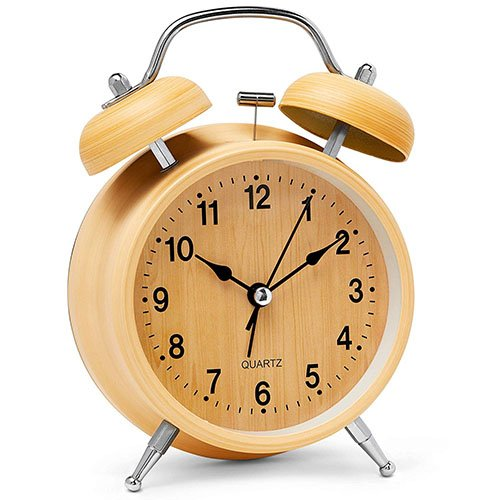 digltal display alarm clock retro