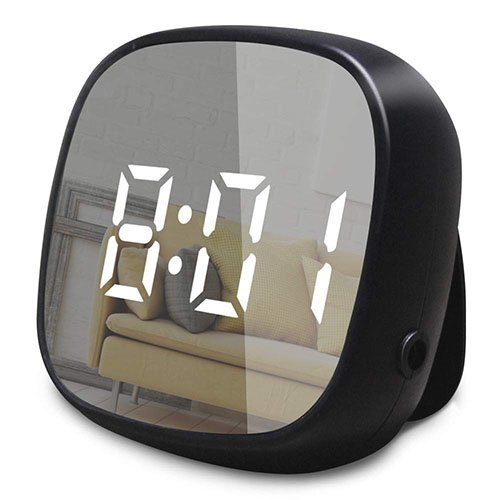 digital alarm clock with white noise