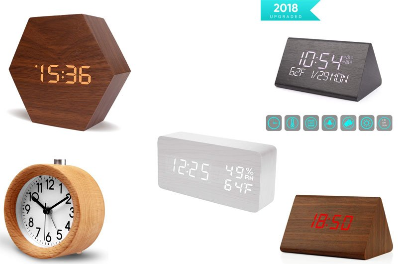 Wooden Alarm Clock Reviews