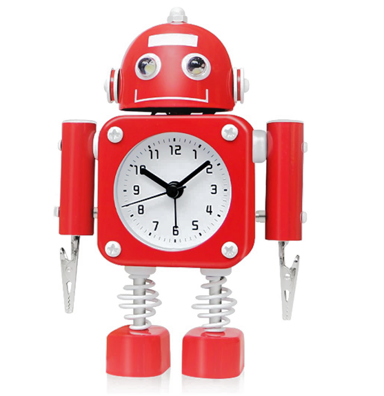 betus robot clock for kids