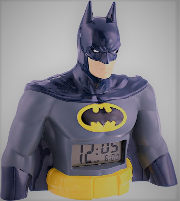 digital display batman alarm clock