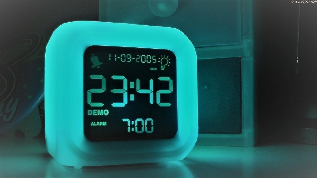digital travel alarm clock for 2020
