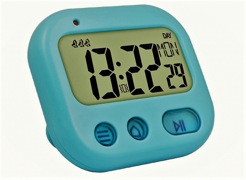 digital vibration timer alarm clock