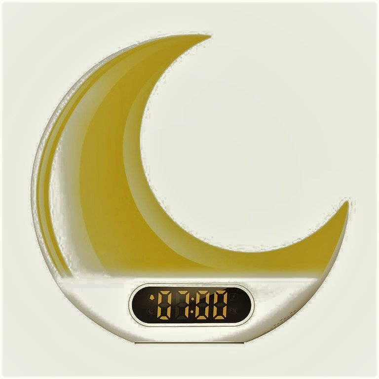 herphia alarm clock and wake up light