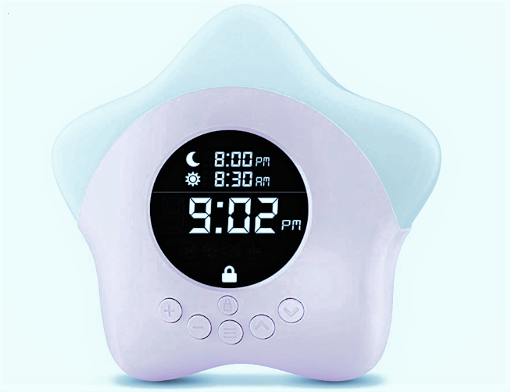 toddler sleep training alarm clock