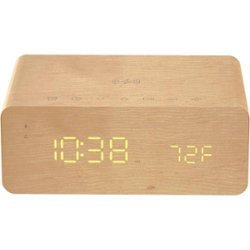 charge time alarm clock