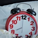Easy read time teacher alarm clock