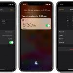 iphone alarm clock app headphones only