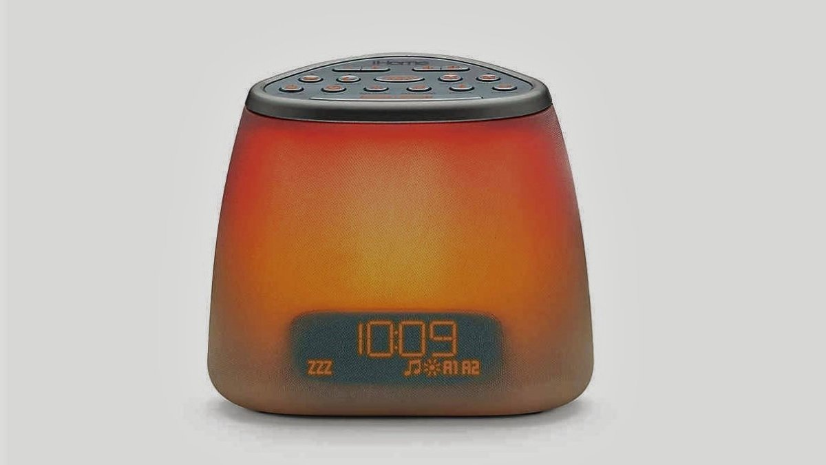 modern bedside clocks