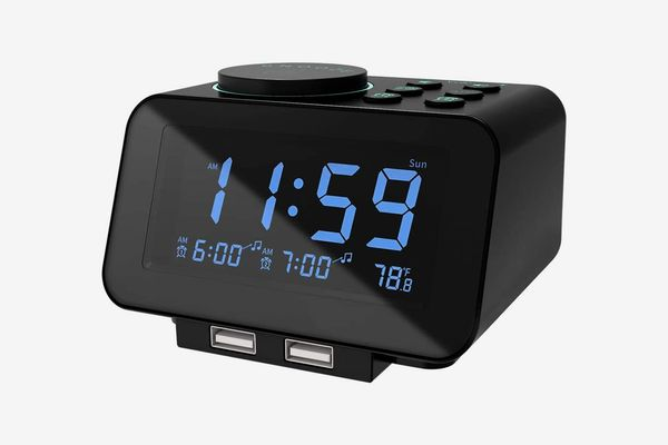 alarm clock with usb port