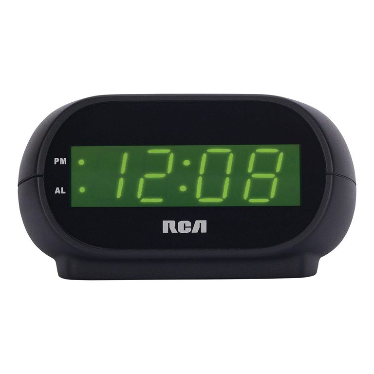 digital alarm clock with night light