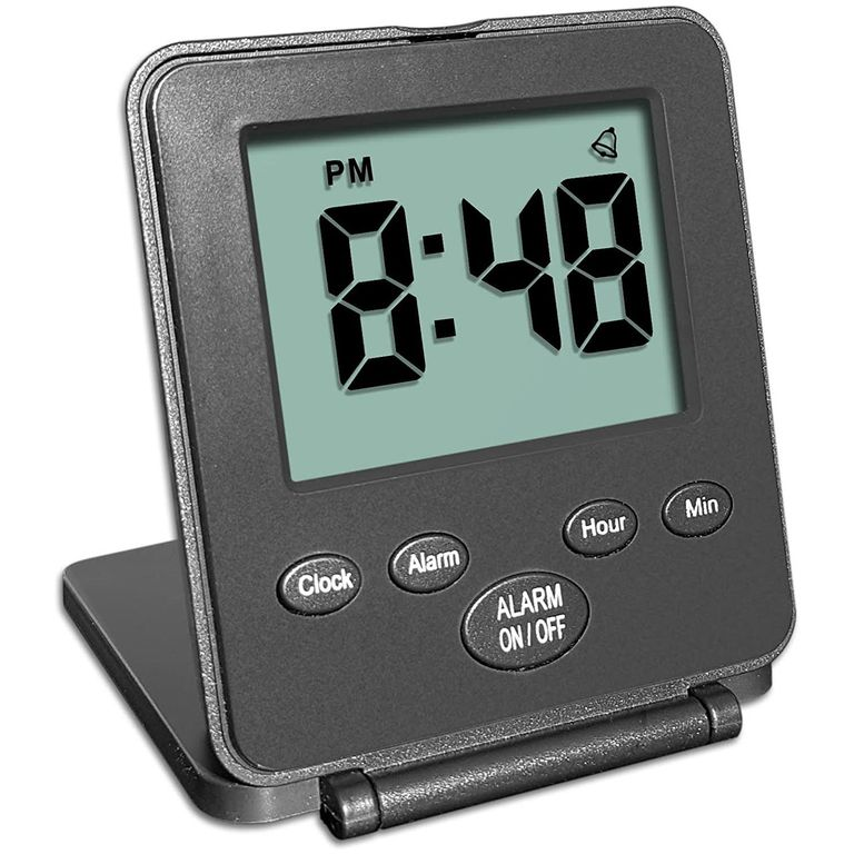 digital travel alarm clock