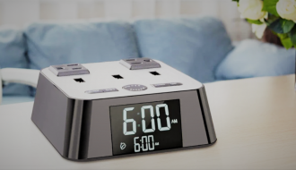 scale alarm clock